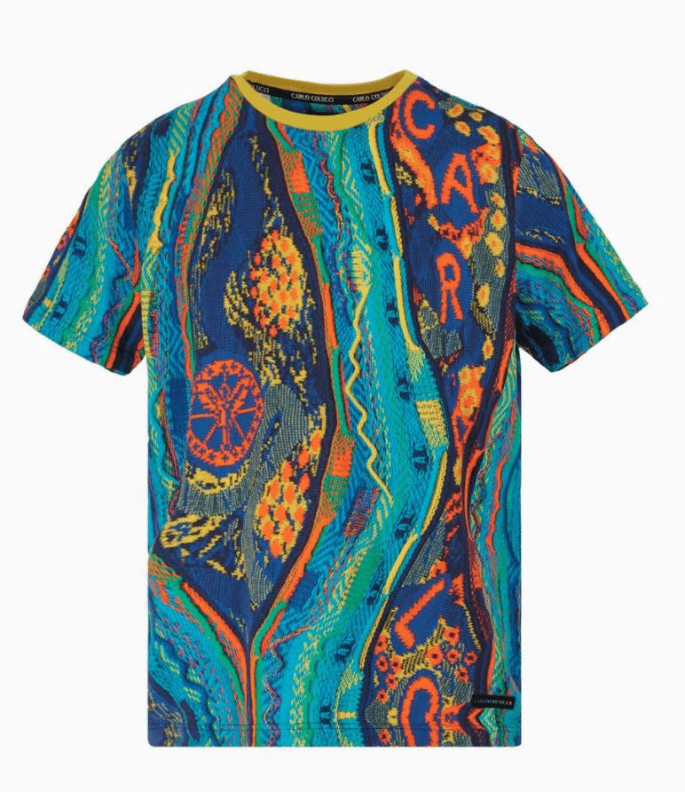 Carlo Colucci T-Shirt C3037 Blue
