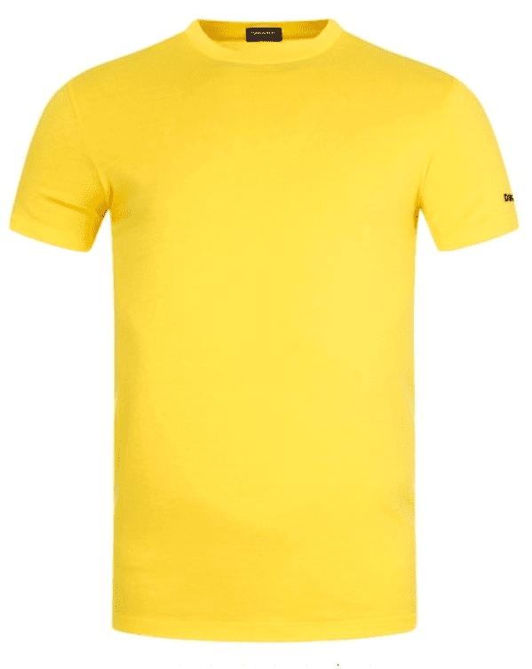 Dsquared2 Round Neck T-Shirt Yellow