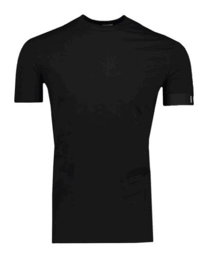 Dsquared2 Round Neck T-Shirt Icon Zwart