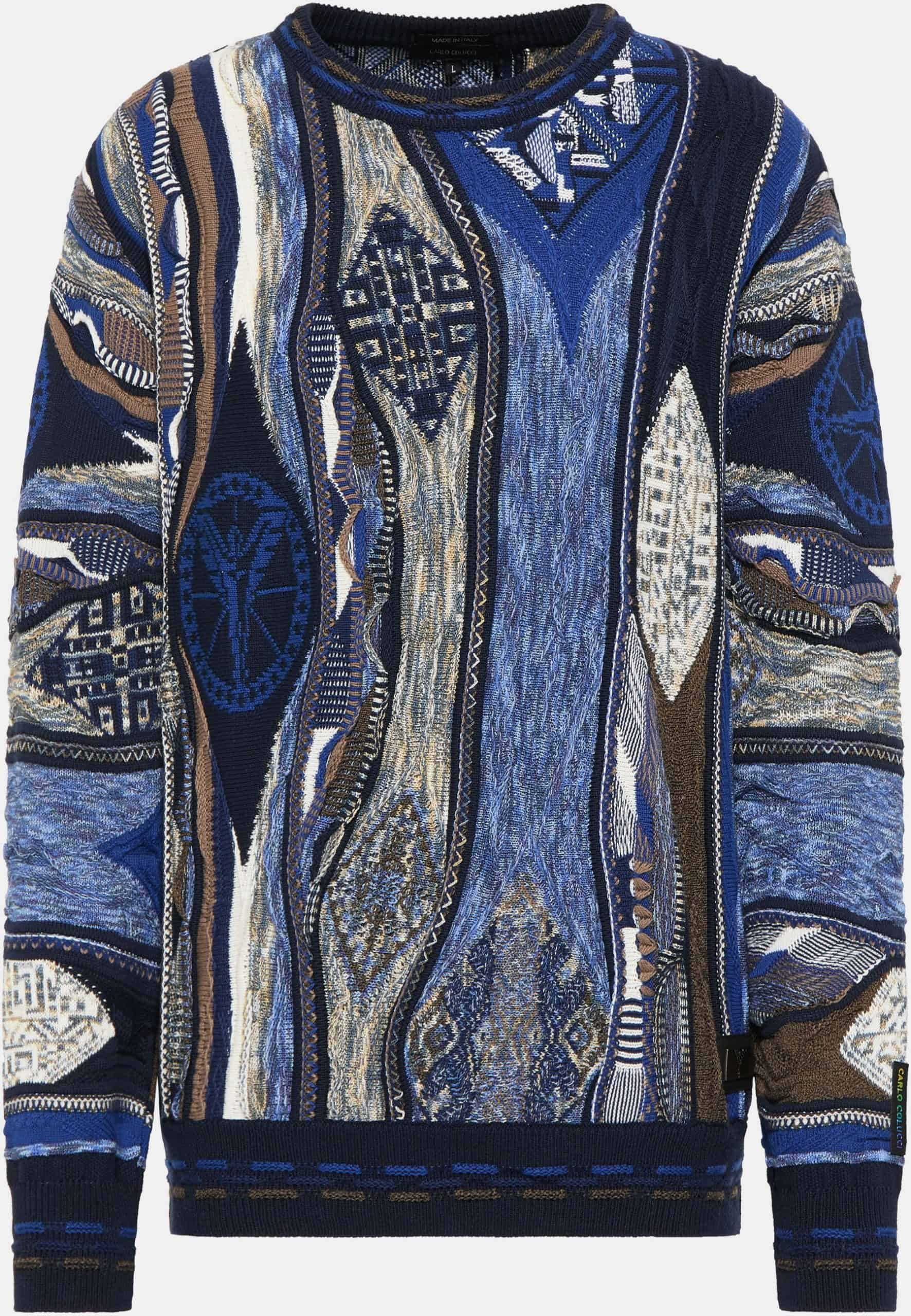 Carlo Colucci Sweater C9911 Navy