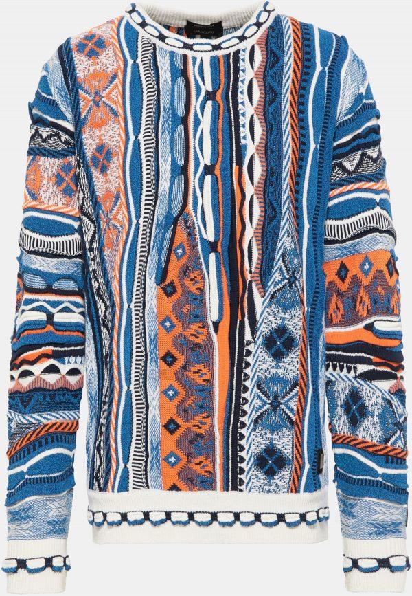 Carlo Colucci Sweater C9913 Blue