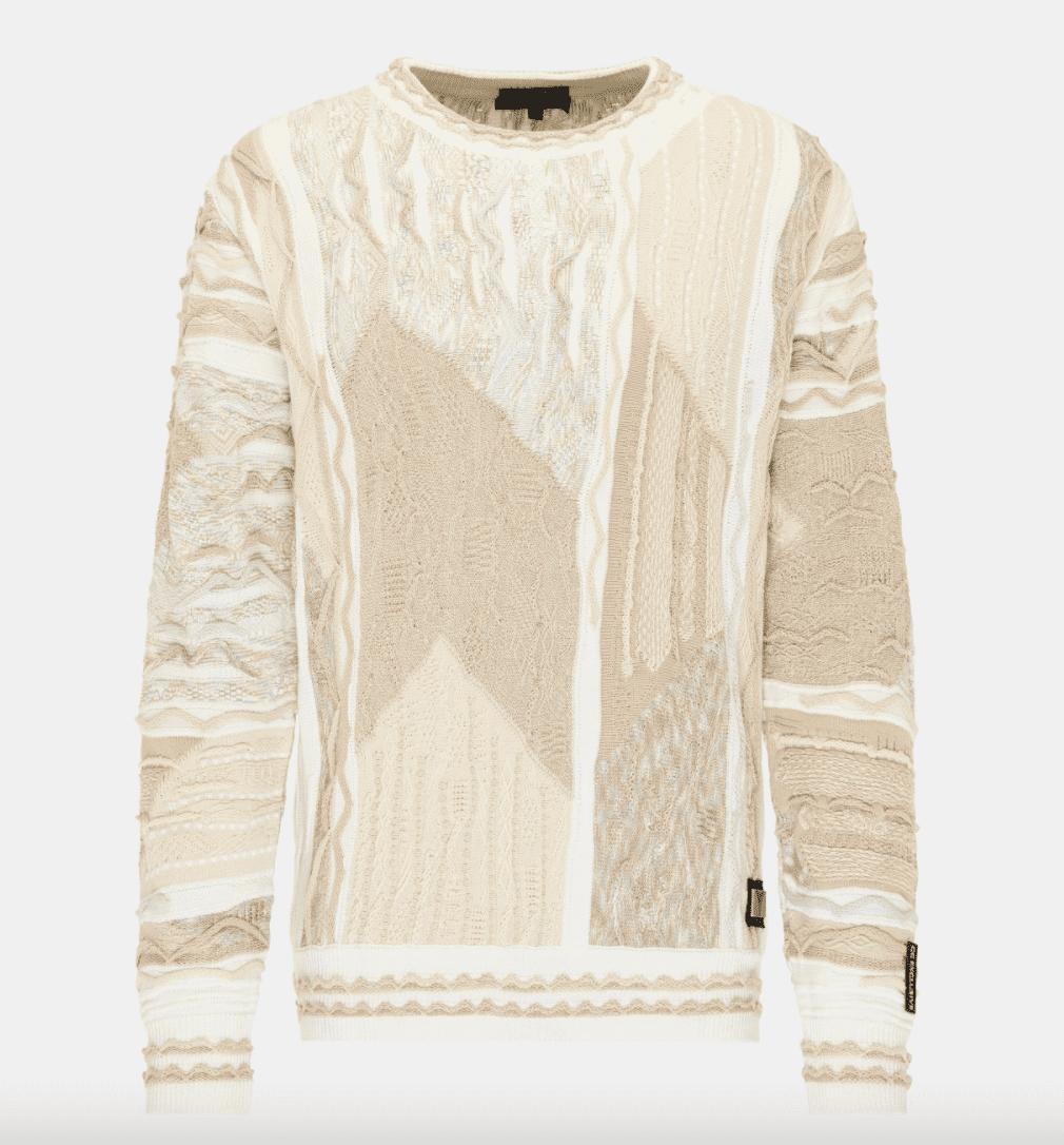 Carlo Colucci Sweater C11005 Sand