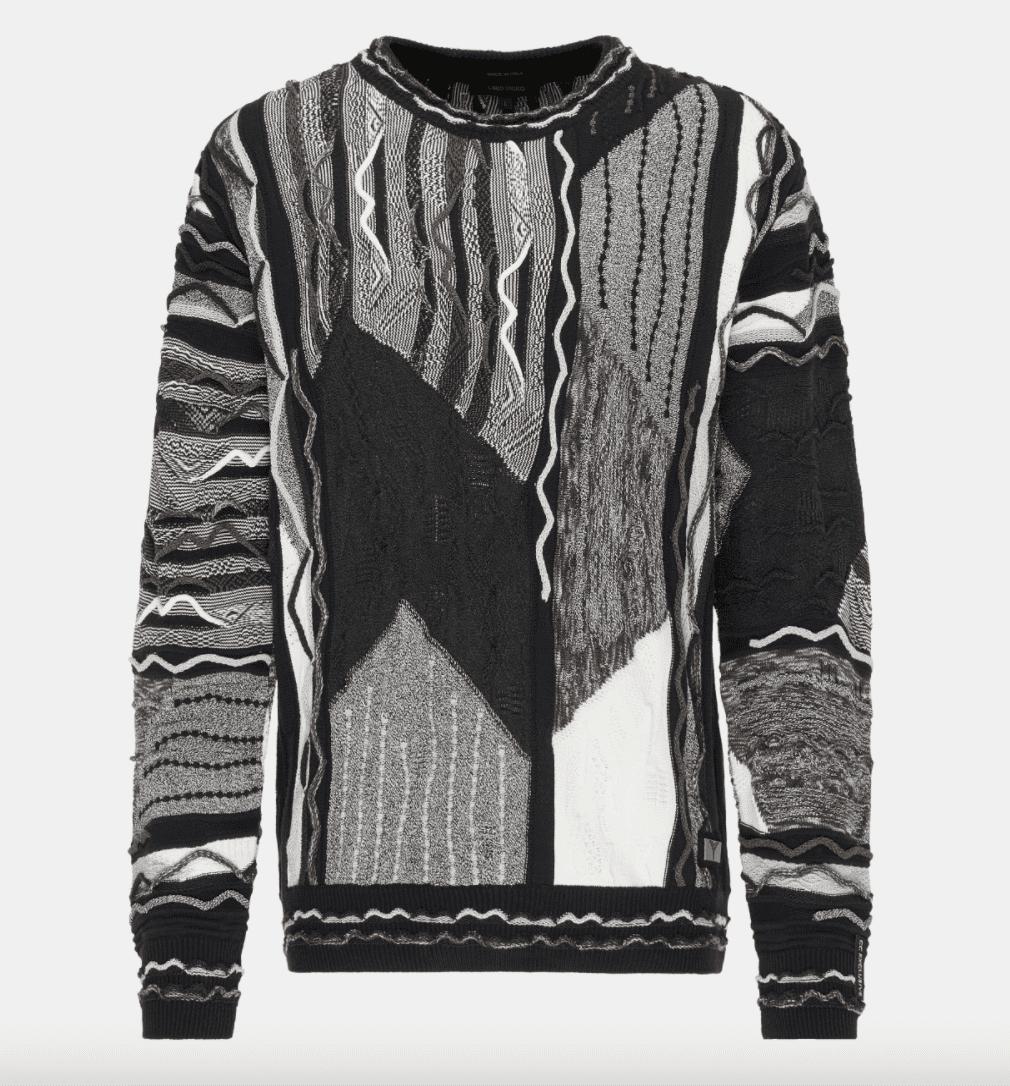 Carlo Colucci Sweater C11005 Black