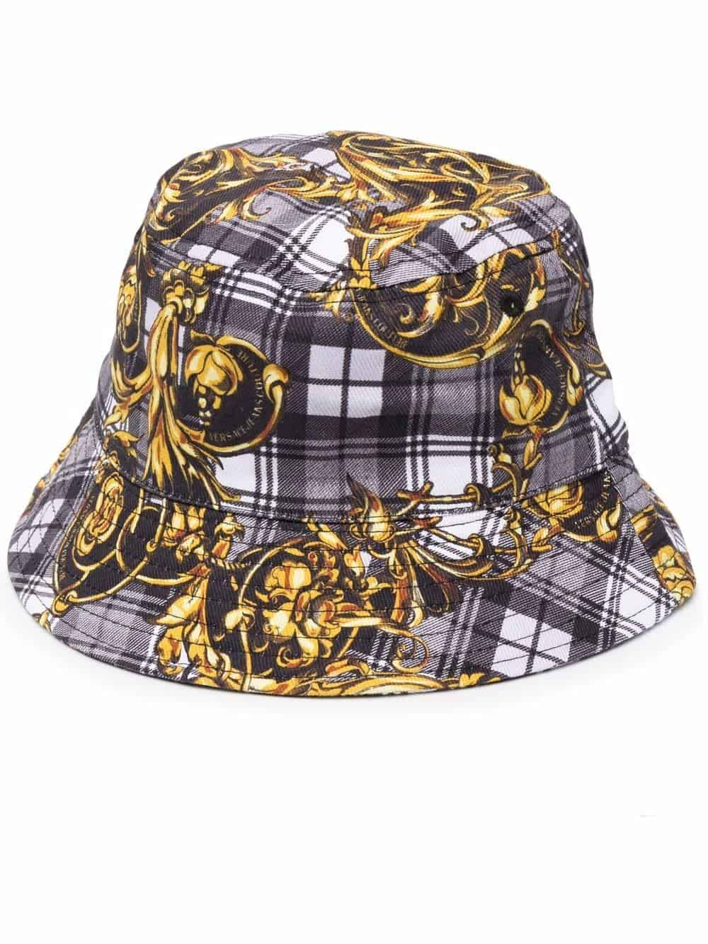 Versace Jeans Couture Bucket Hat Printed Grey