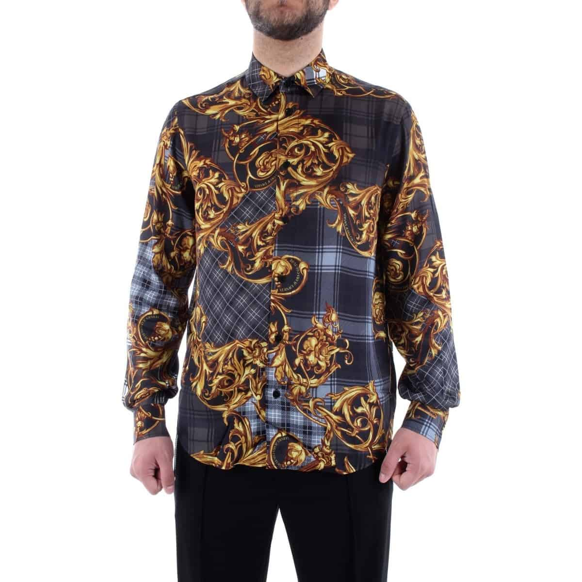Versace Jeans Couture Baroque Printed Shirt