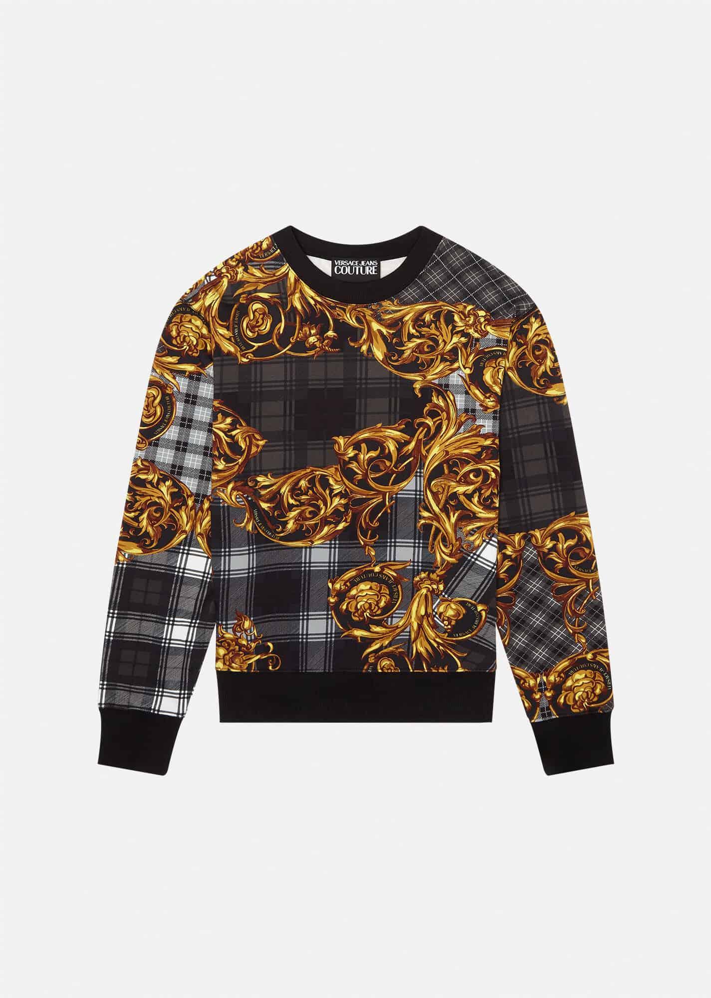 Versace Jeans Couture Baroque Print Sweatshirt