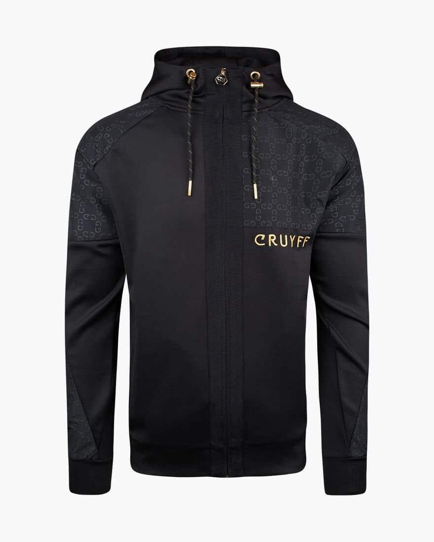 Cruyff Herrero Zip-Thru Hood Black