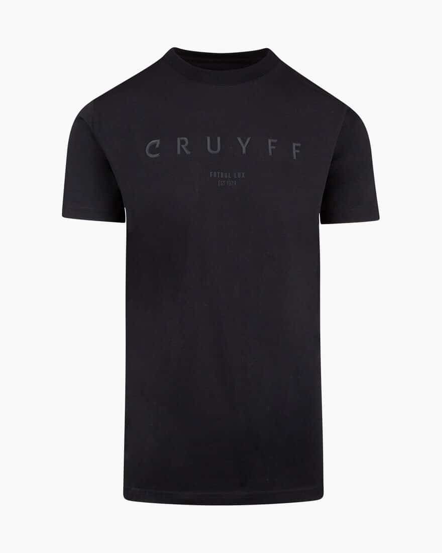 Cruyff Lux SS Tee Black