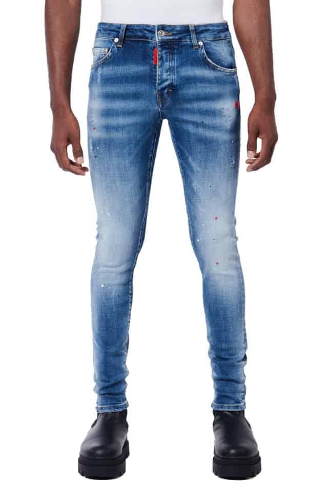 My Brand Red Spots Denim Jeans
