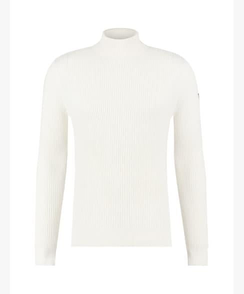 Purewhite Structure Knit Garment Off White