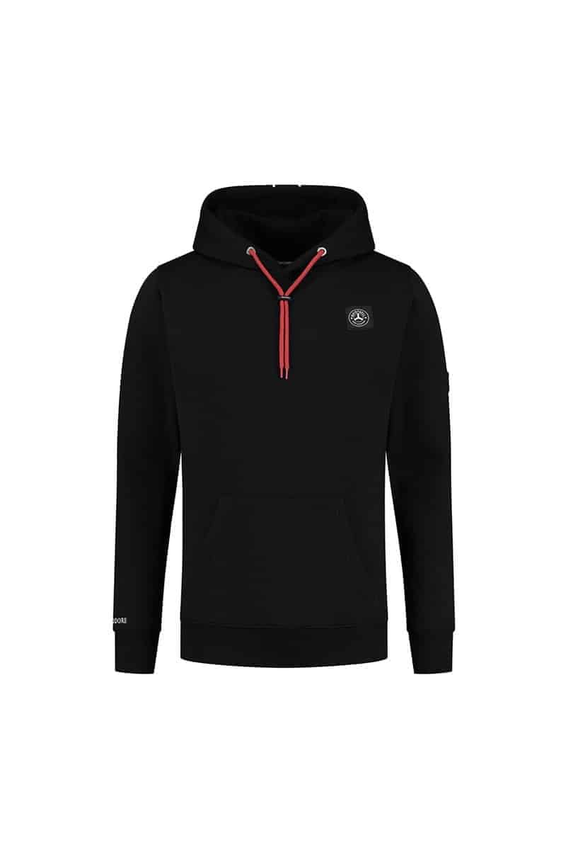 Quotrell Commodore Hoodie Black/Red