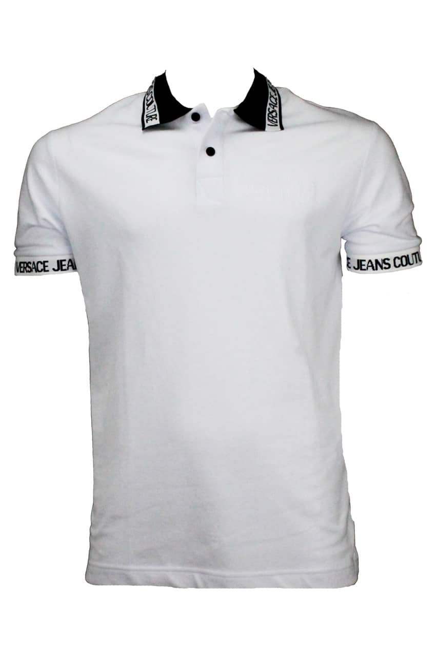 Versace Couture Jeans Polo White