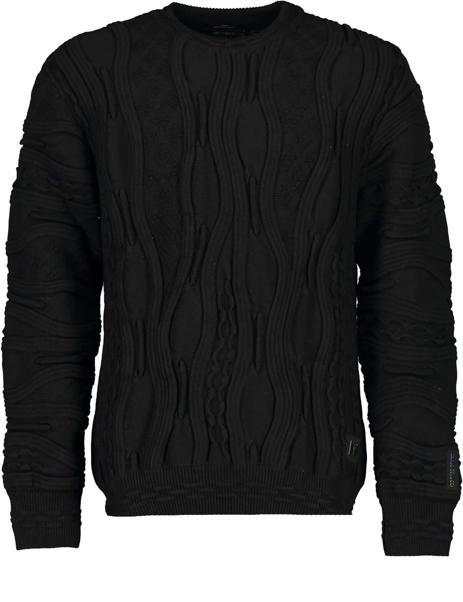 Carlo Colucci Sweater C10903 Black