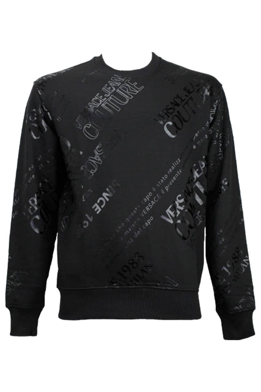 Versace Jeans Couture Trui Met Lange Mouwen Zwart