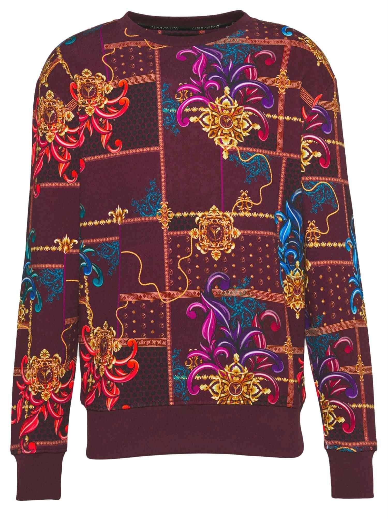 Carlo Colucci Sweater Red C3929